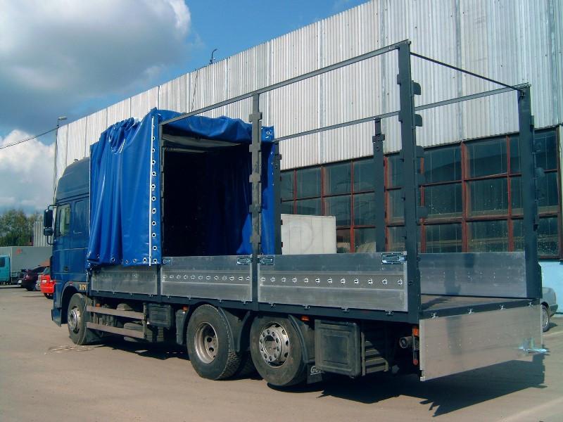 Изменение типа кузова грузового автомобиля